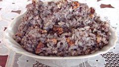 Как варить кутью из риса