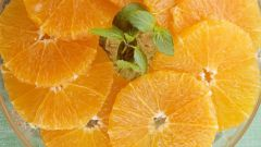 How to slice an orange