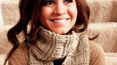 Как модно носить шарф