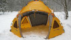 Как обогреть палатку зимой