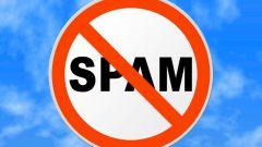 Как остановить спам