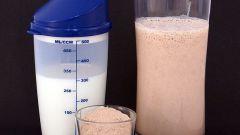 Как нужно пить протеин