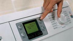 How to heat water using the washing machine