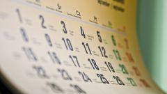 Как определить выходные дни
