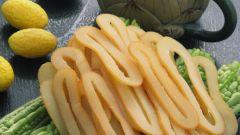 Как готовить салаты с кальмарами