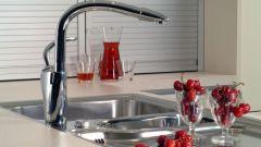 Как установить смеситель для кухни