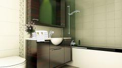 Как подобрать мебель для ванной