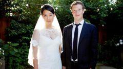 На ком женился основатель Facebook