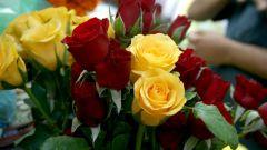 Как подарить цветы мужчине
