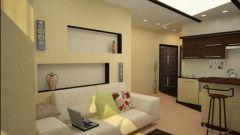 Как обставить маленькую однокомнатную квартиру