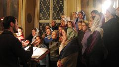 Как петь в церковном хоре