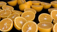 Как отстирать пятна от апельсина