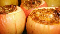 Как сделать печеные яблоки с медом
