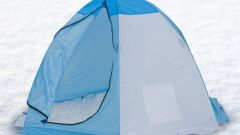 Как выбрать палатку для рыбалки