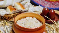 Как приготовить рисовую кашу с яблоком