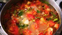 Как приготовить овощной суп с сырными гноччи