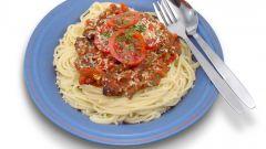 Как приготовить пасту с соусом болоньезе