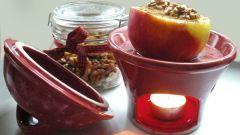 Как приготовить десерт из печеных яблок