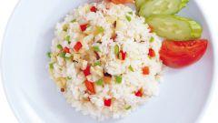 Как сделать овощную смесь с рисом