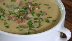 Как сделать грибной суп с пшеном