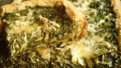 Как приготовить пирог с сыром и травами