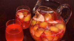 Как сделать компот из яблок и мандаринов