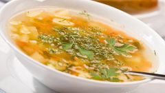 How to cook chicken soup with mushrooms