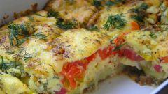 Как сделать овощную овощную запеканку с сыром
