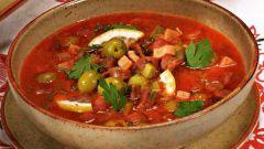 Как приготовить солянку по-абхазски с аджикой и каперсами