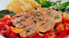 Как приготовить телятину под соусом из тунца