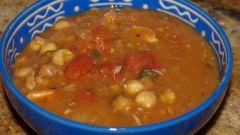 Как приготовить марокканский суп