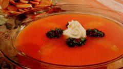 Как сделать морковный суп с апельсинами