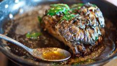 Как приготовить говядину под грибным соусом
