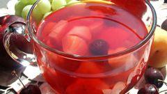 Как сделать компот из яблок и вишен