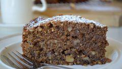 Как приготовить пирог с орехами