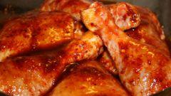 Как приготовить куриные окорочка в майонезно-горчичной заливке