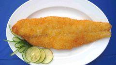 Как приготовить рыбу в панировке с карри