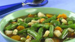 Как приготовить суп из зеленой фасоли