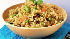 How to cook vegetable pilaf
