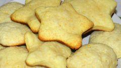 Как приготовить лимонное печенье
