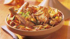 Как сделать тажин из курицы с сухофруктами