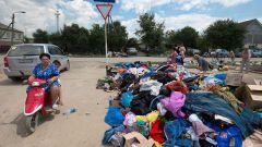 Как передать вещи пострадавшим в Крымске