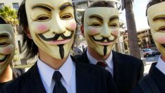 Какие акции проводит движение Anonymous