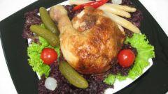 Как приготовить курицу в лимонном соусе с овощами