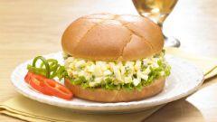 Как приготовить сэндвич с яичным салатом