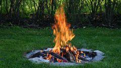 Как развести огонь в сырую погоду