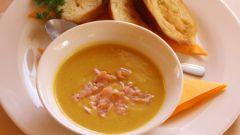 Как приготовить тыквенный суп с яблоками