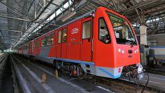 Какой новый поезд запущен в метро