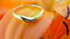 Как чистить свадебное кольцо