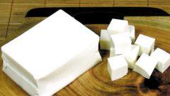 Как приготовить десерт из тофу и фруктов